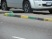The curb in Liguanea painted in the national colours 