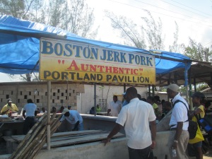 What would Denbigh be without some Boston jerk to take home?